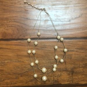 Jewelry - Adjustable Double Pearl Strand